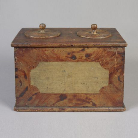 Storage Box with two lids