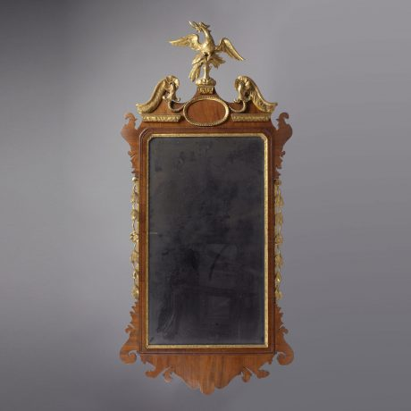Transitional Chippendale Mirror
