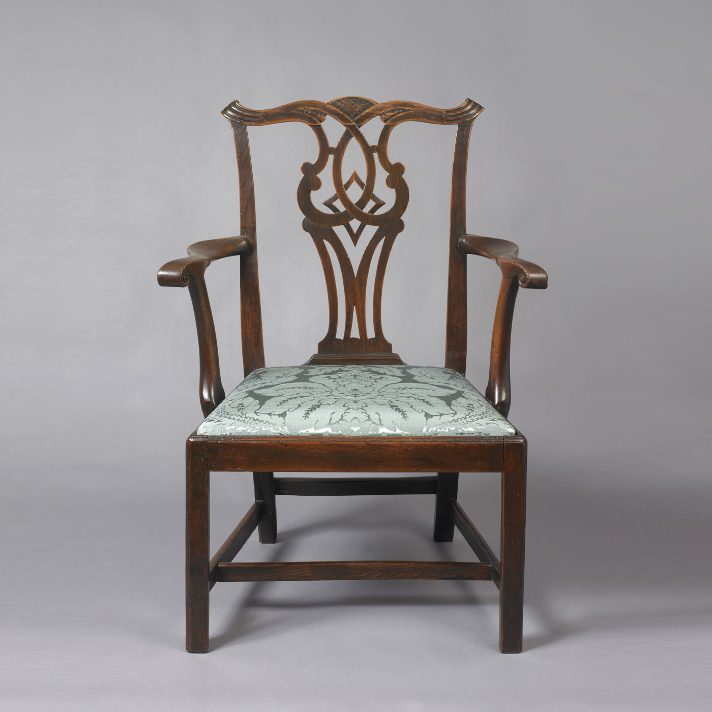 Chippendale arm chair - Chippendale Arm Chair