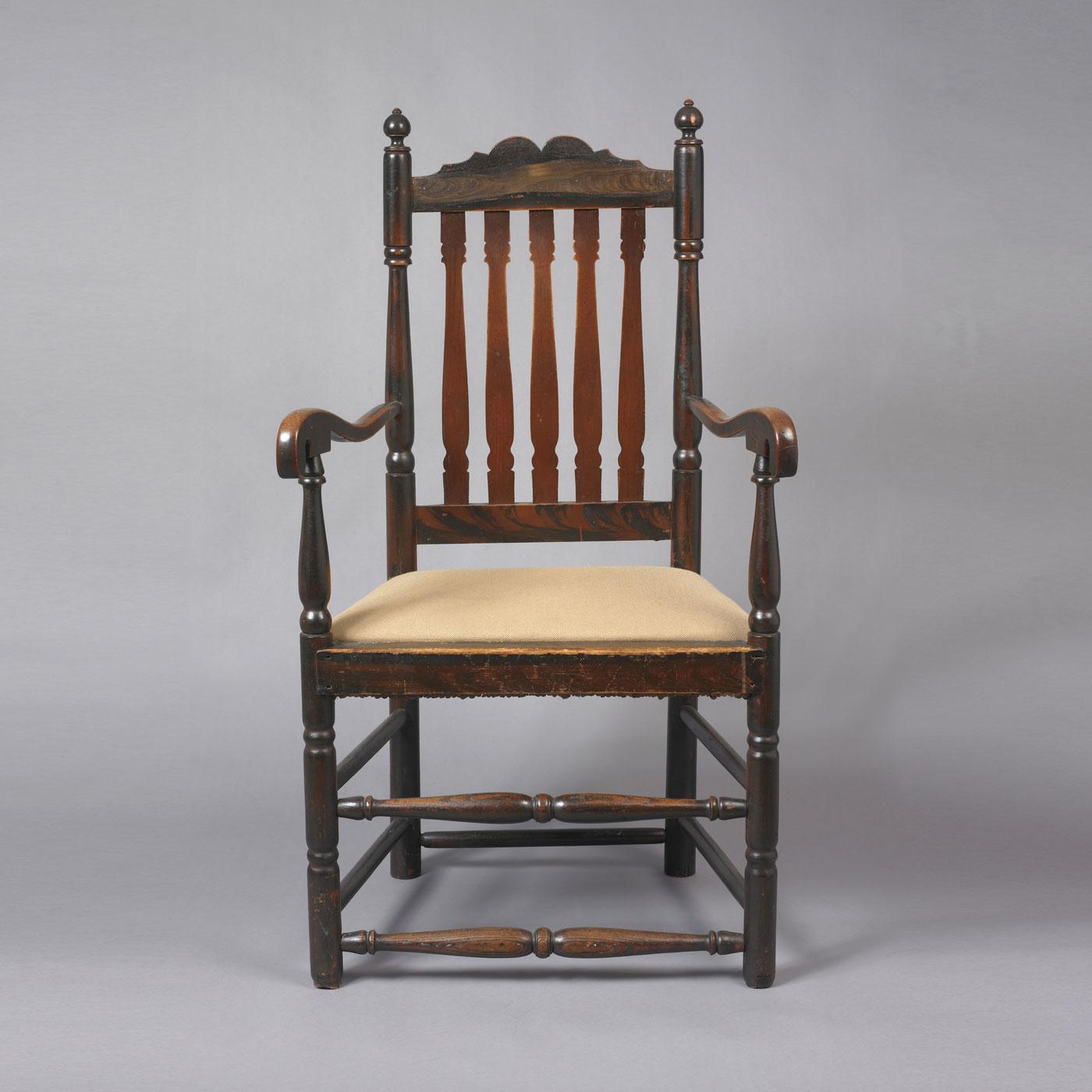 queen anne arm chair jeffrey tillou antiques