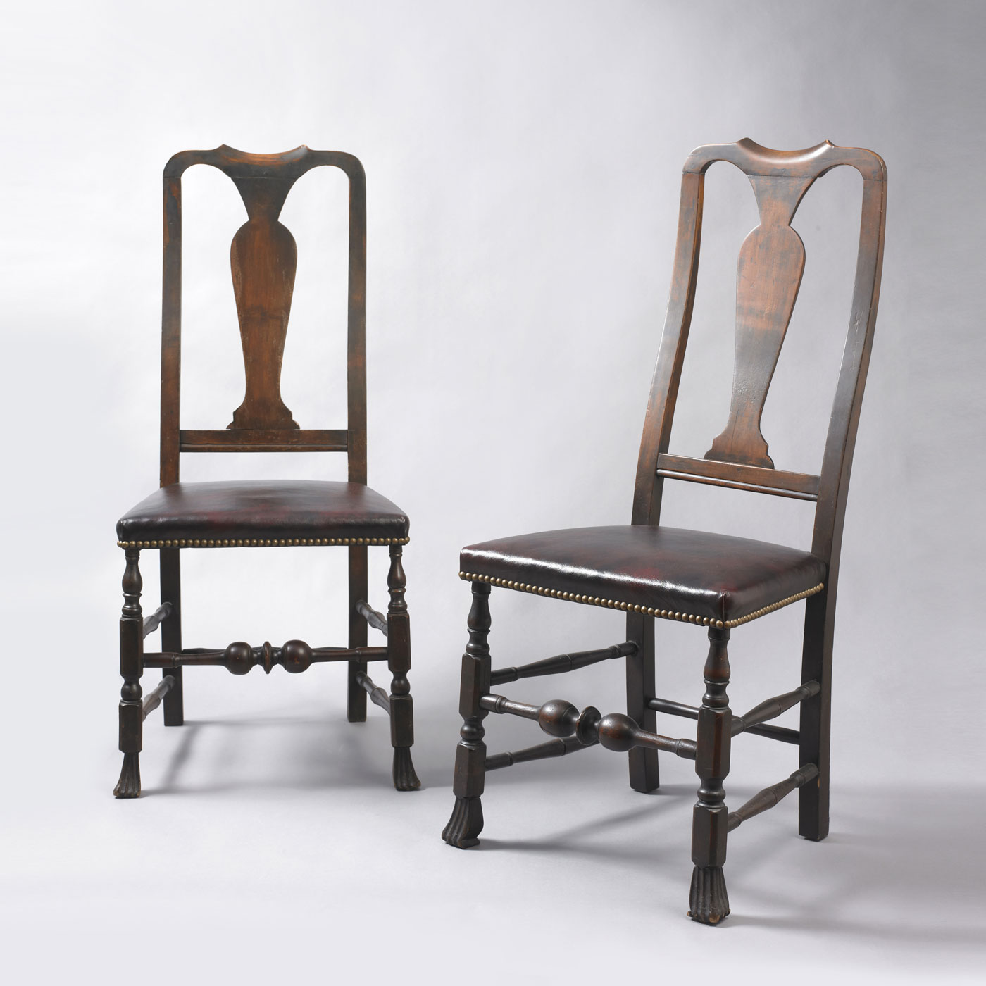 Pair of Queen Anne Side Chairs • Jeffrey Tillou Antiques