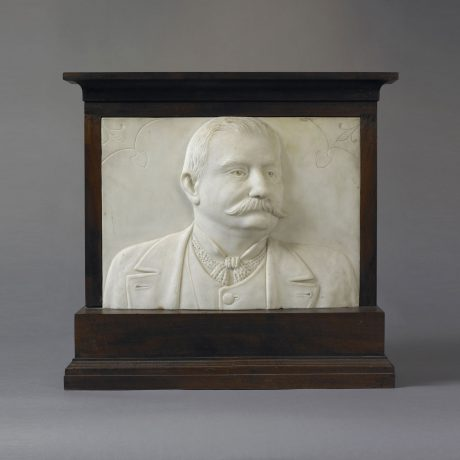 Carved Portrait of a Gentleman