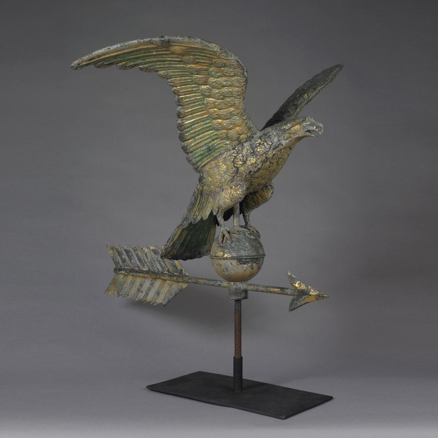 Eagle Weathervane • Jeffrey Tillou Antiques