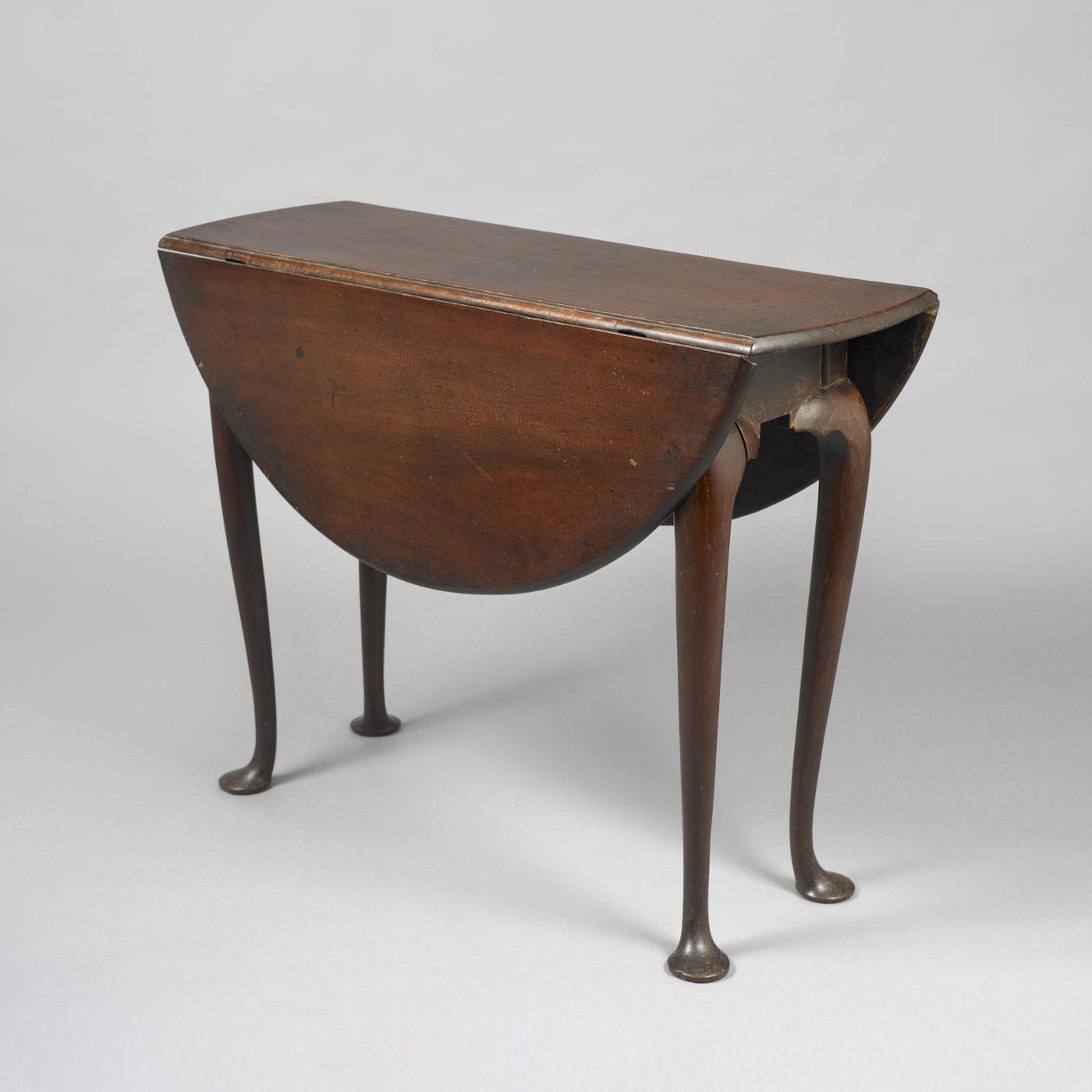 Antique Drop Leaf Table >> Queen Anne Drop-Leaf Table • Jeffrey Tillou Antiques