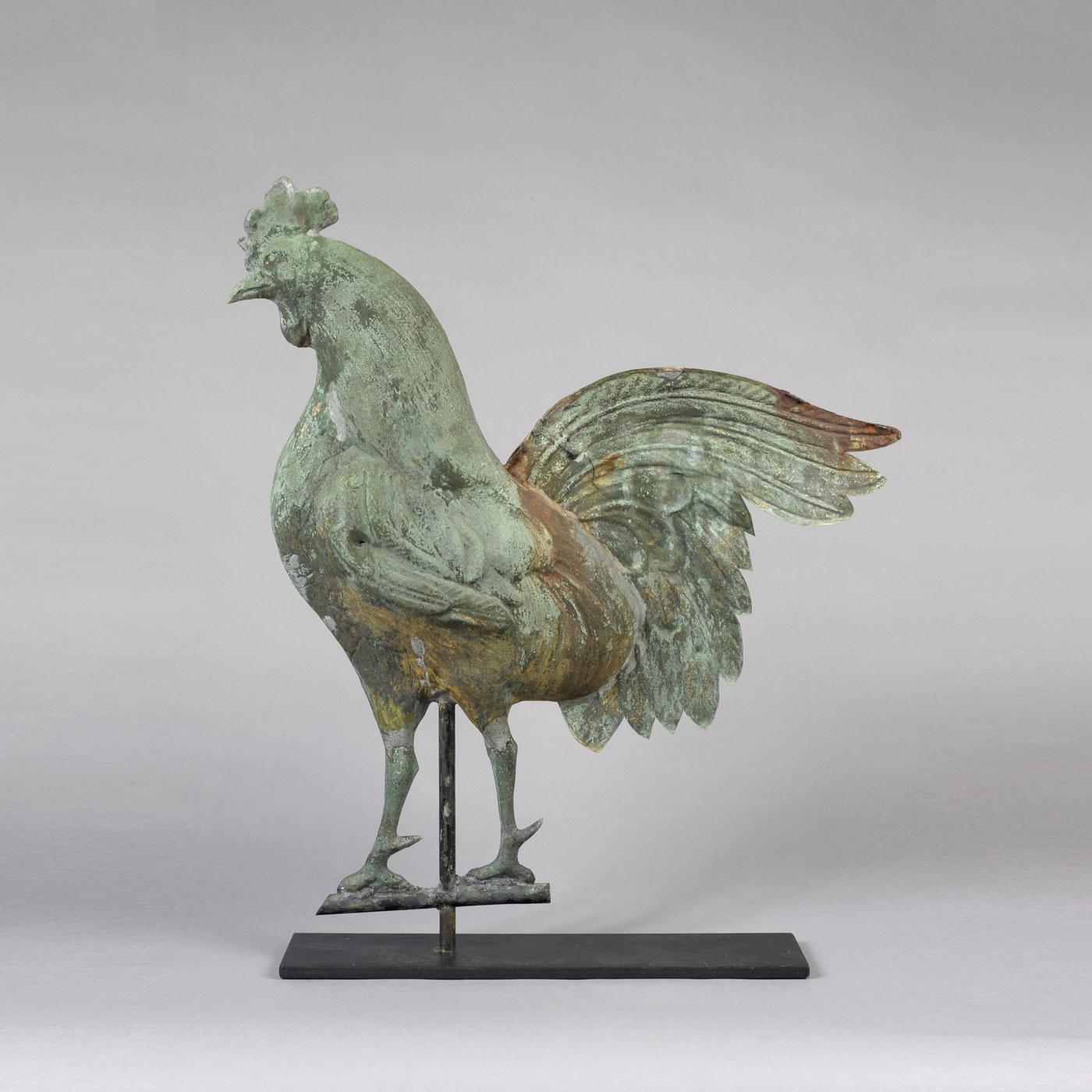 Rooster Weathervane Jeffrey Tillou Antiques