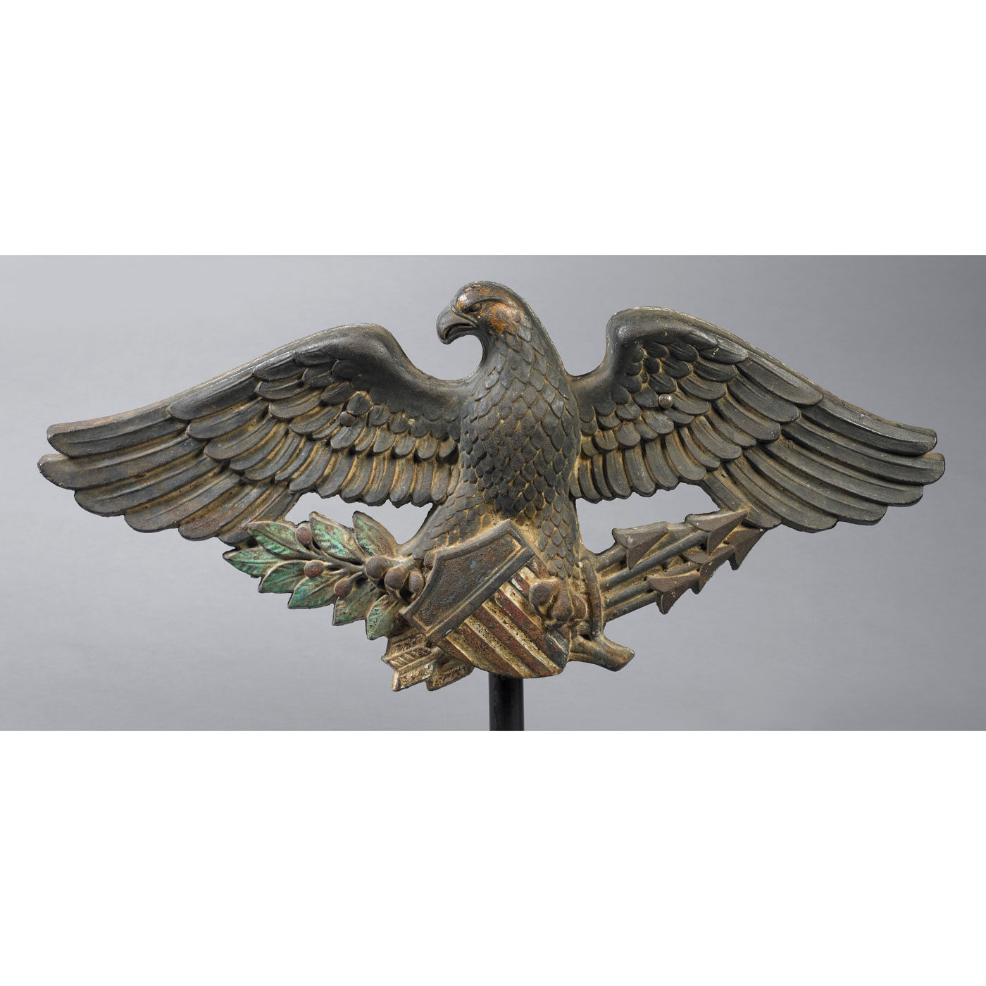 Architectural Eagle Plaque Jeffrey Tillou Antiques