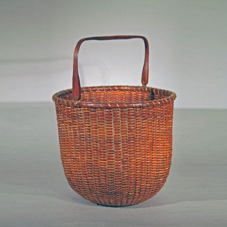 Rare Tall Lightship Basket with Handle