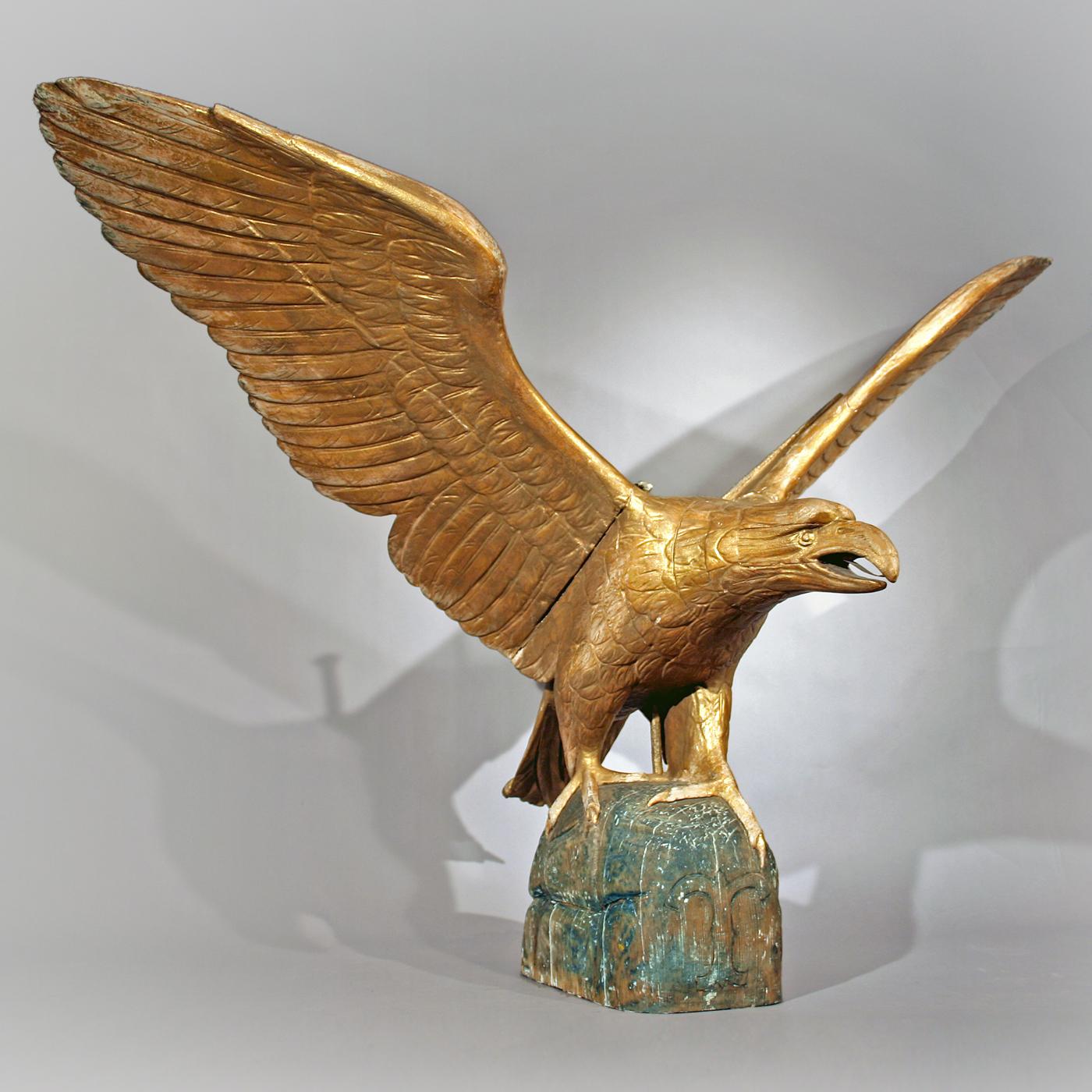 Large Pilot House Eagle Jeffrey Tillou Antiques