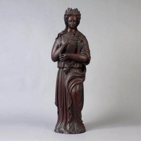 "Carved Figure of ""Erato"""