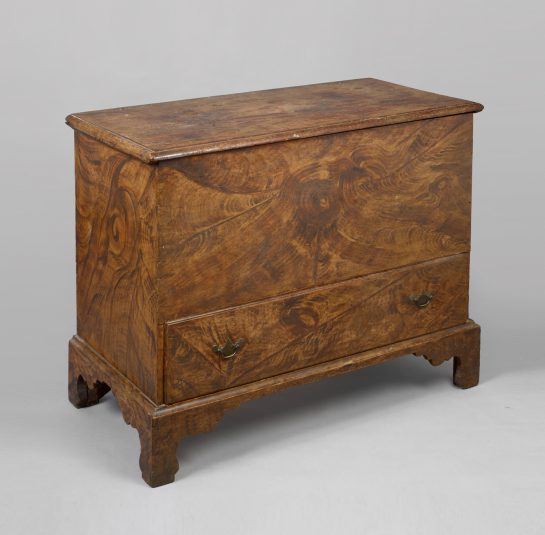 Chippendale Grain-Painted Blanket Chest
