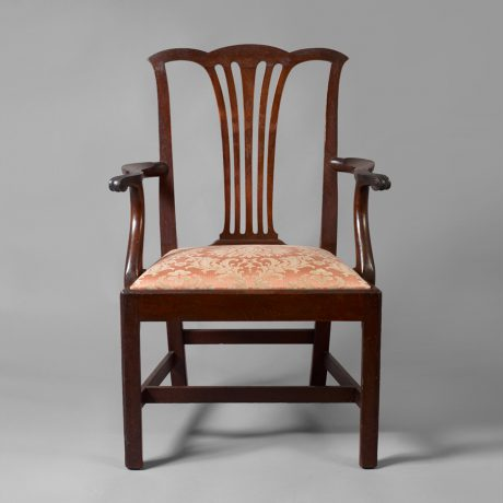 The Butler Family Chippendale Armchair