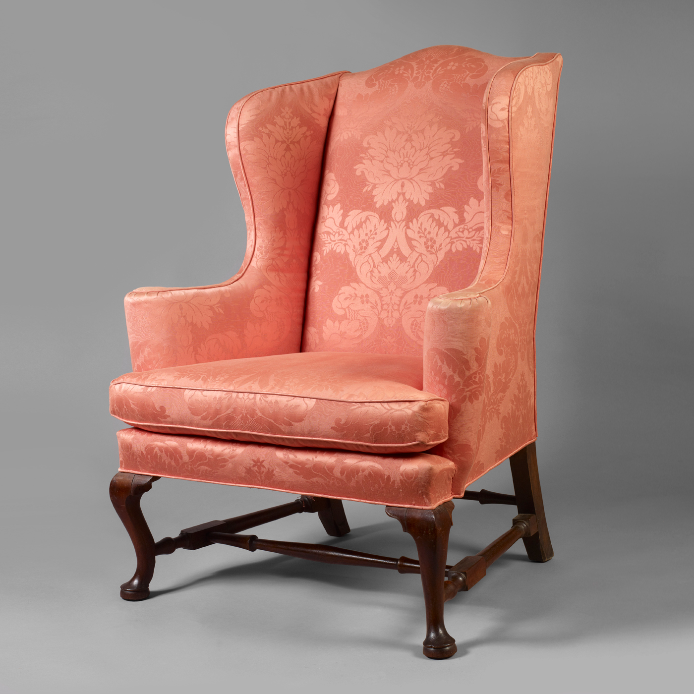 Amazing Queen Anne Easy Chair Jeffrey Tillou Antiques Gamerscity Chair Design For Home Gamerscityorg
