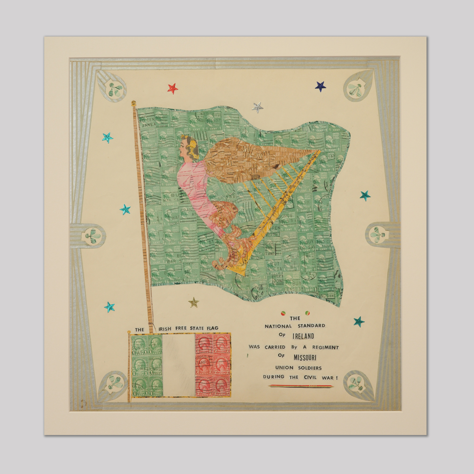 The Irish Free State Flag Jeffrey Tillou Antiques
