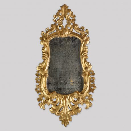 Carved Gilt Mirror