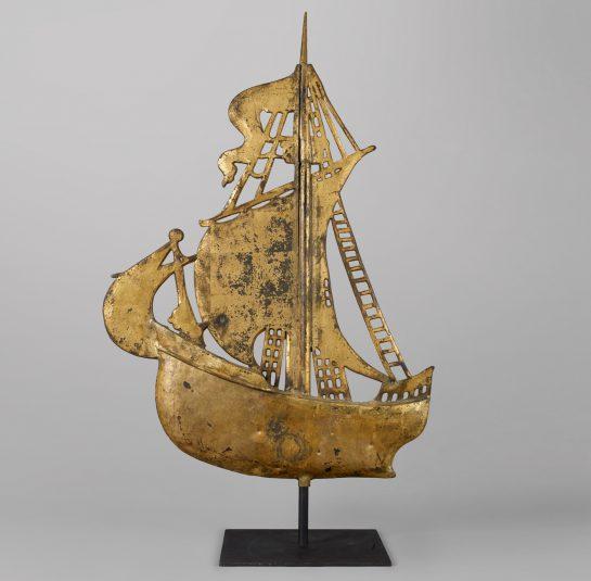 Rare Ship Weathervane