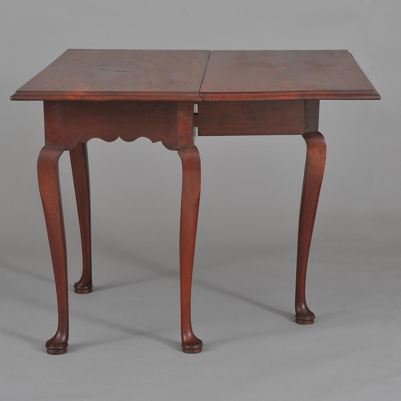 Rare Queen Anne Single Drop Leaf Table • Jeffrey Tillou Antiques