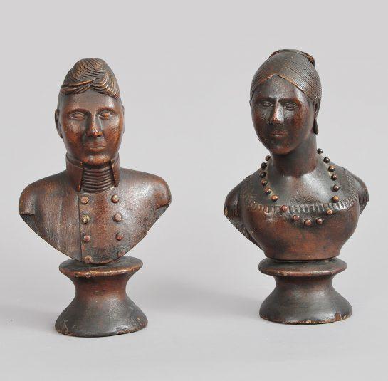 Pair of Portrait Busts