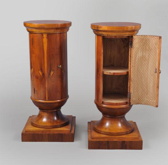 Edwardian Pedestal Cabinets