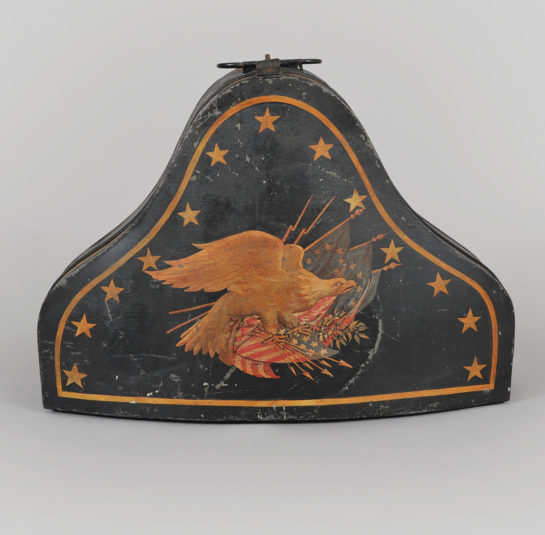 Rare Naval Captains Hat Box