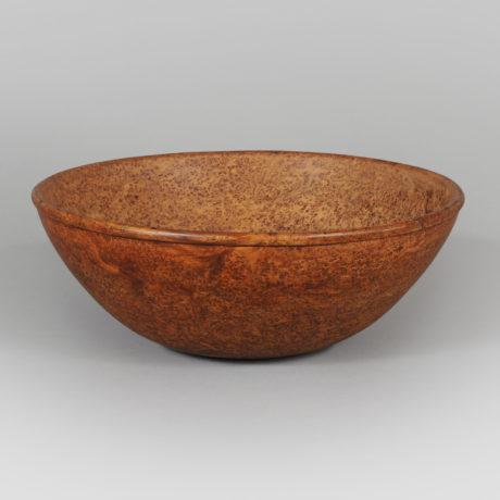 Turned Burl Bowl