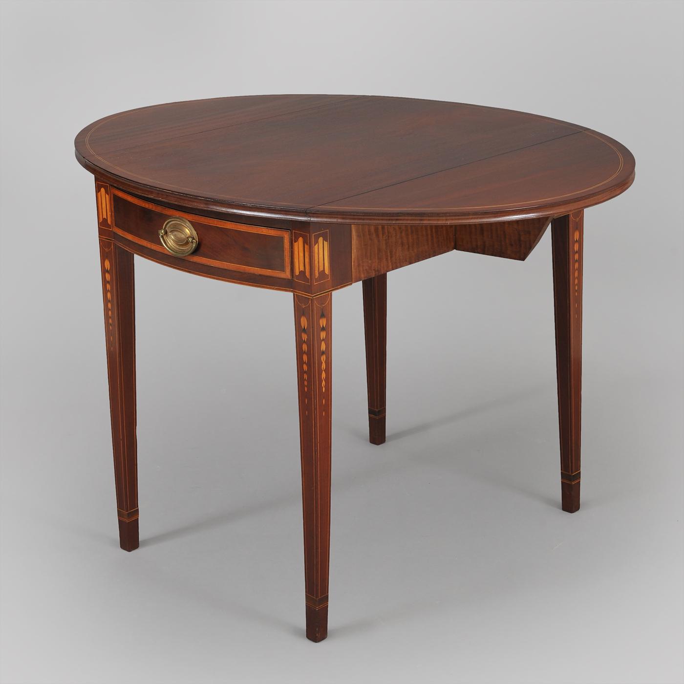 Federal Pembroke Table Jeffrey Tillou Antiques