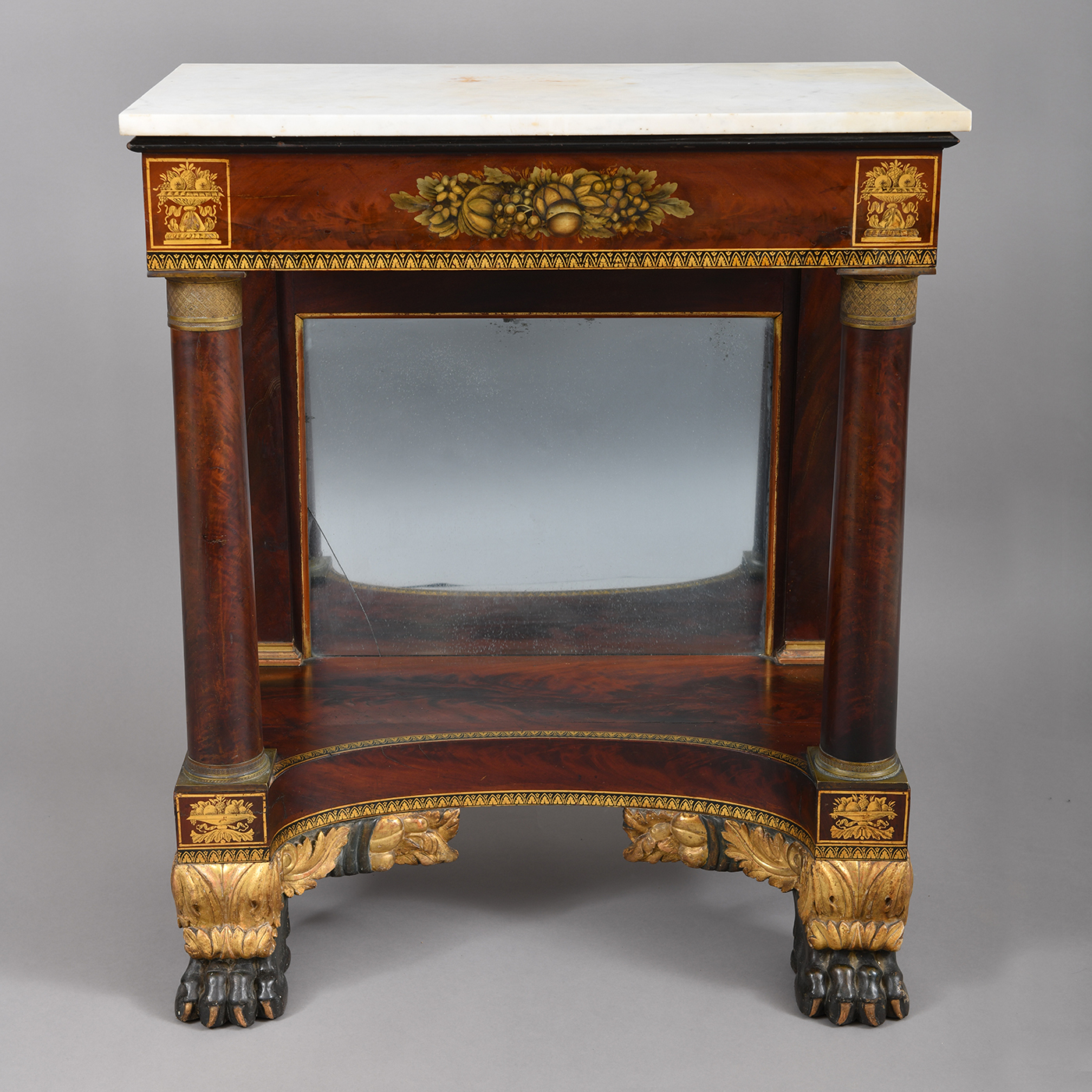 A Rare Diminutive Size Classical Pier Table Jeffrey